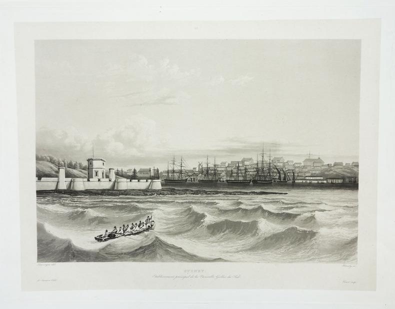 Sydney. Etablissement principal de la Nouvelle Galles du Sud.. LAPLACE (Cyrille Pierre Théodore).