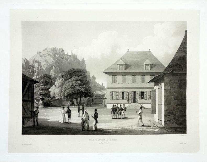 [SEYCHELLES] Habitation à Mahé (Seychelles).. LAPLACE (Cyrille Pierre Théodore).