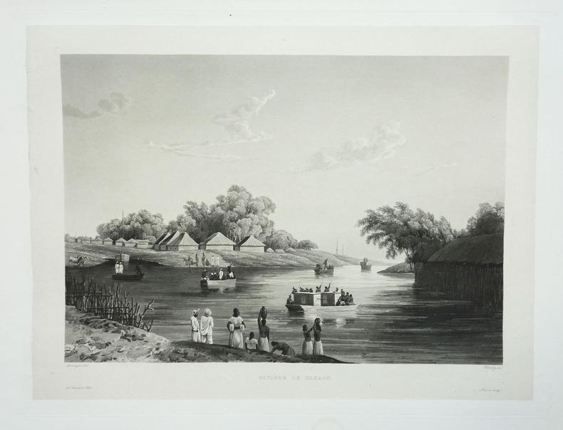 [INDE] Rivière de Yanaon.. LAPLACE (Cyrille Pierre Théodore).