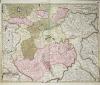 Tabula Moscoviae nunc accuratius concinnata et edita a Petro Schenk.. L'ISLE (Guillaume de).