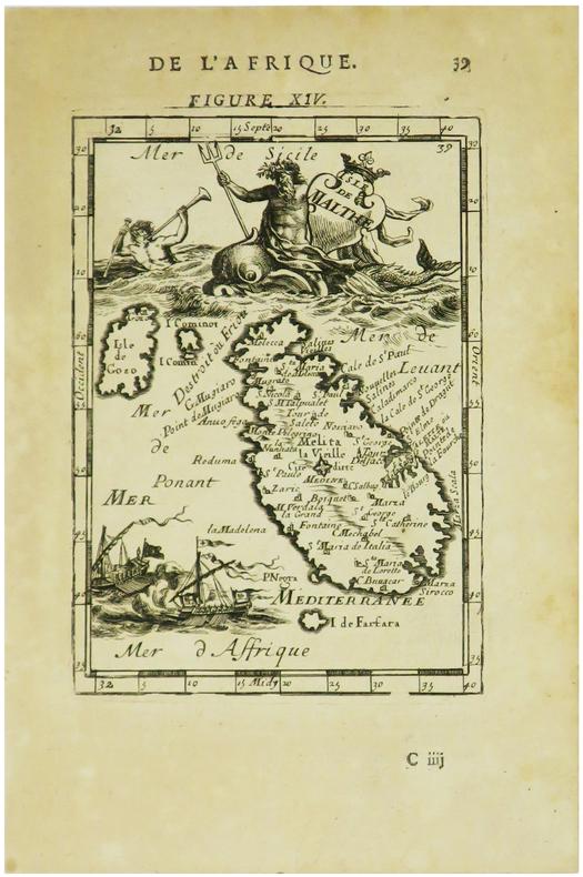 [MALTE] Isle de Malthe.. MANESSON-MALLET (Allain).