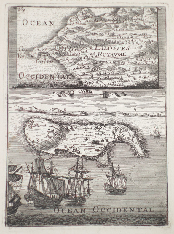[ILE de GOREE] I. Gorée.. MANESSON-MALLET (Allain).