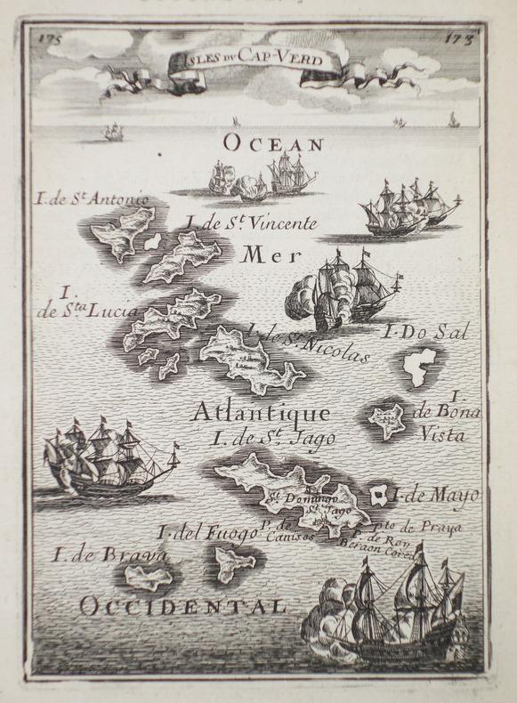 Isles du Cap-Verd.. MANESSON-MALLET (Allain).
