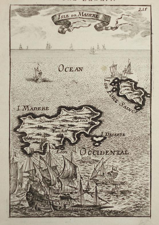 Isle de Madère.. MANESSON-MALLET (Allain).