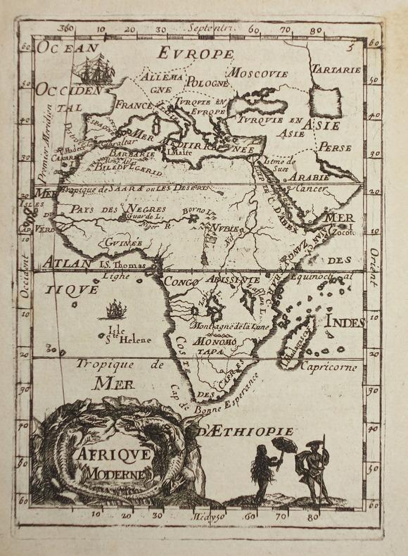 Afrique moderne.. MANESSON-MALLET (Allain).