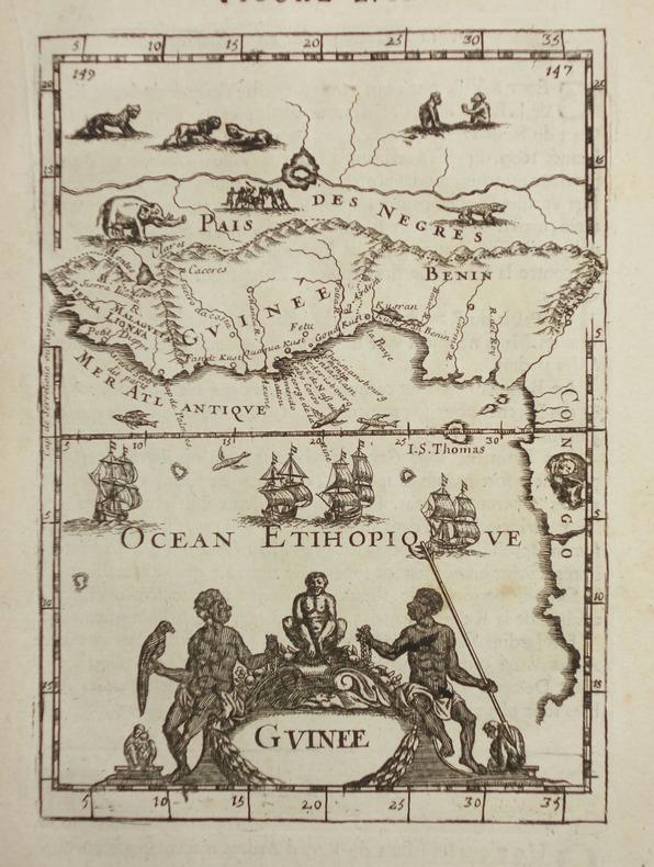 Guinée.. MANESSON-MALLET (Allain).