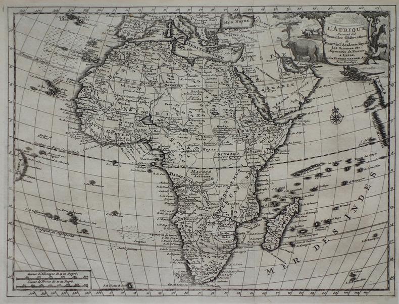 L'Afrique.. AA (Pieter van der).
