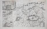[Carte de la Terre Sainte].. JANSSON (Johannes) & HORNIUS (Georgius).