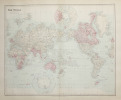 The World on Mercator's projection showing the British possessions.. STANFORD (Edward).