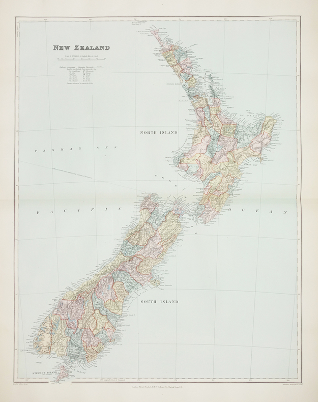 [NOUVELLE-ZÉLANDE] New Zealand.. STANFORD (Edward).
