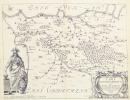 Carte topographique du comté de Madrie.. BOUCHET (Jean du).