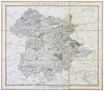 [SAINT-PONS-de-THOMIERES] Carte du diocèse de St. Pons.. CASSINI de THURY (César-François) & CAPITAINE (Louis).