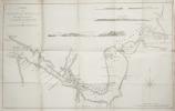 Carte du détroit de Magellan dans laquelle on a inséré les observations et les découvertes .. COOK (James).