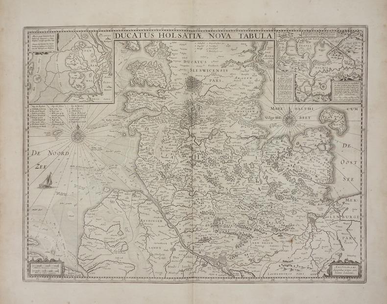 [SCHLESWIG-HOLSTEIN] Ducatus Holsatiae nova tabula.. JANSSON (Joannes).
