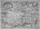 Carte de la Louisiane et pays voisins.. BELLIN (Jacques-Nicolas).