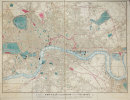 [LONDRES] Cary's new plan of London and its vicinity, published by authority of her Majesty's Post Master General.. CARY (G. & J.) & CRUCHLEY (George ...