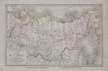 Carte de la Sibérie et du Kamtchatka.. TARDIEU (Ambroise).