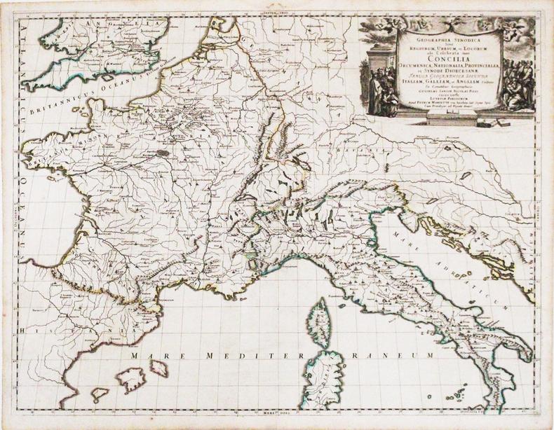 Geographia synodica sive regionum, urbium, et locorum, ubi celebrata sunt Concilia œcumenica, nationalia, provincialia, et synodi diœcesanæ tabula ...