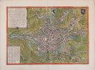 [GAND] Gandavum, amplissima Flandriæ urbs.. BRAUN (Georg) & HOGENBERG (Frans).