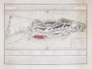 [GIBRALTAR] Plan du promontoire, de la ville et du port de Gibraltar avec les ouvrages faits depuis le dernier siège et les lignes construites par ...