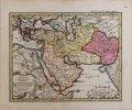 Tabulae pars prima exhibens partes orientaliores Imperii Arabici.. HAAS (Johann Matthias).