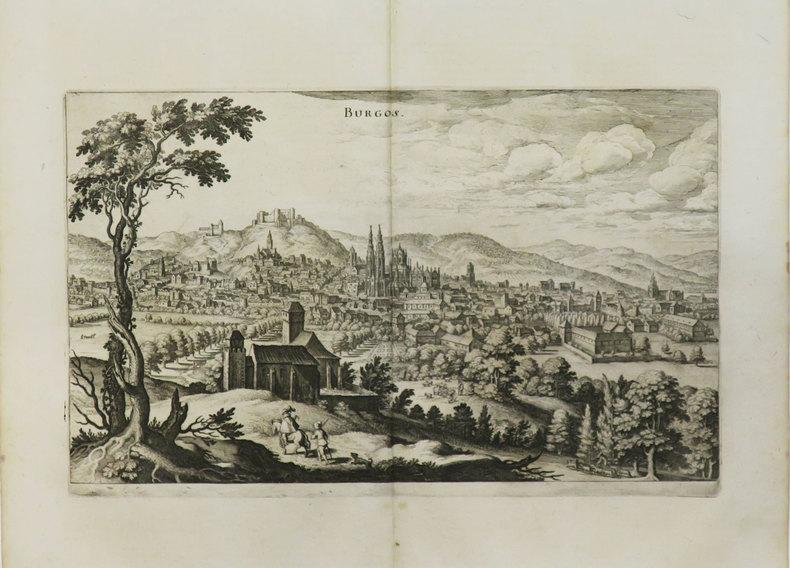 [BURGOS] Burgos.. MERIAN (Matthäus).