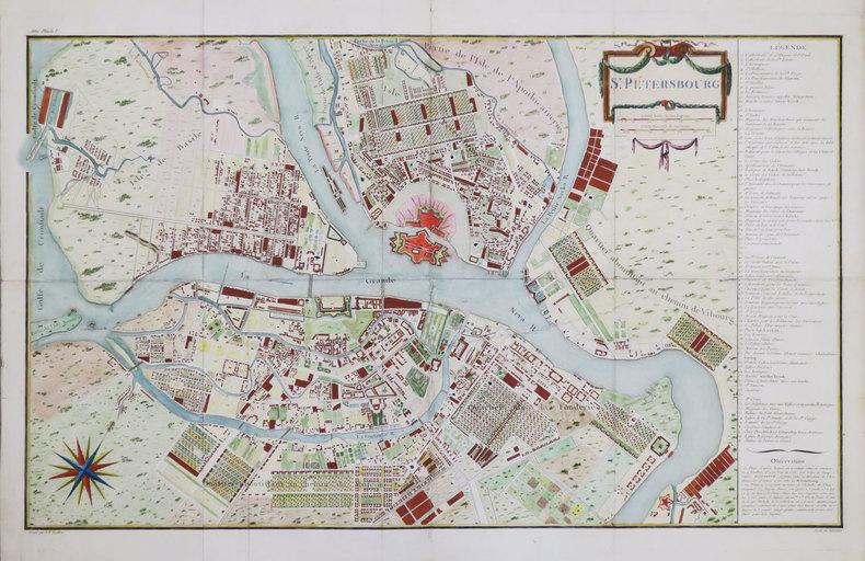 St. Pétersbourg.. TARDIEU (Pierre François).