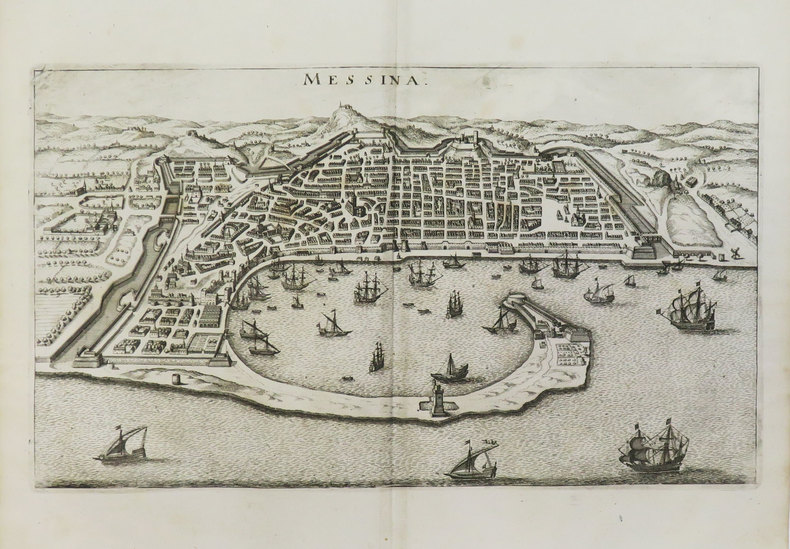 [MESSINE] Messina.. MERIAN (Matthäus).