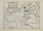 [CAROLINE du SUD] A Plan of Port Royal harbour in Carolina with the proposed forts, depth of water &c.. MOLL (Herman).