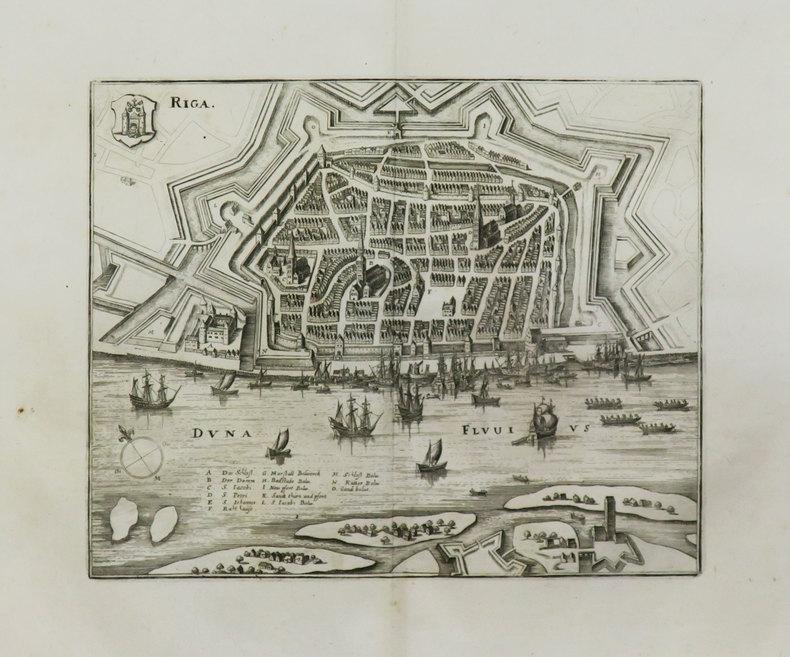 [LETTONIE] Riga.. MERIAN (Matthäus).