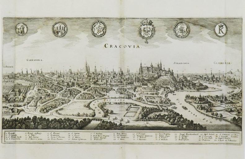 [CRACOVIE] Cracovia.. MERIAN (Matthäus).