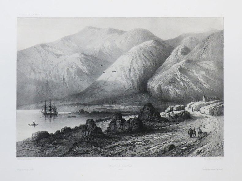 [BOLIVIE] Rade de Cobija. Bolivie.. VAILLANT (Auguste-Nicolas).
