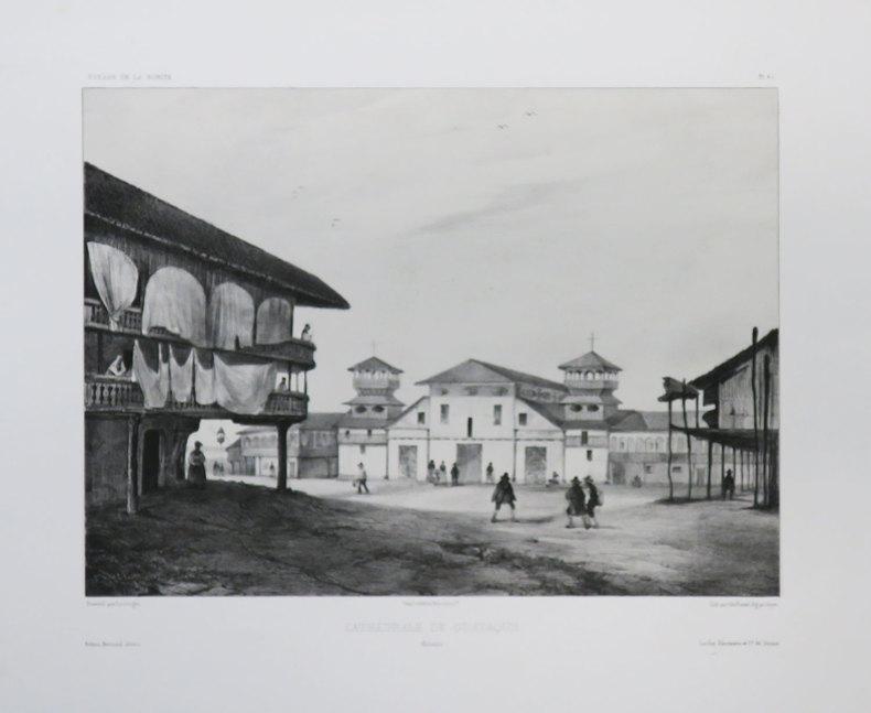 [EQUATEUR] Cathédrale de Guayaquil. Colombie.. VAILLANT (Auguste-Nicolas).