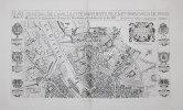 Plan général de la ville, cité, université, isles et faubourgs de Paris.. ATLAS des ANCIENS PLANS de PARIS & BOISSEAU (Jean).