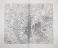 Paris en 1380.. ATLAS des ANCIENS PLANS de PARIS & LEGRAND (Henri).