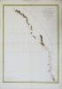 Carte générale d'une partie de la côte du nord-ouest de l'Amérique.. LA PÉROUSE (Jean-François de Galaup, comte de).