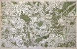 [MIRECOURT/VOSGES] Carte de Cassini. Feuille n°64.. CASSINI de THURY (César-François).