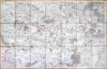 [MEAUX] Carte de Cassini. Feuille n°4.. CASSINI de THURY (César-François).