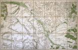 [CHÂLONS-en-CHAMPAGNE] Carte de Cassini. Feuille n°25.. CASSINI de THURY (César-François).