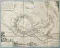 [FRIBOURG-en-BRISGAU] Plan des villes et châteaux de Fribourg.. BEAURAIN (Jean de).