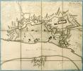 [DÜSSELDORF] Plan de Dusseldorp capitale du duché de Berg.. LE ROUGE (Georges-Louis).