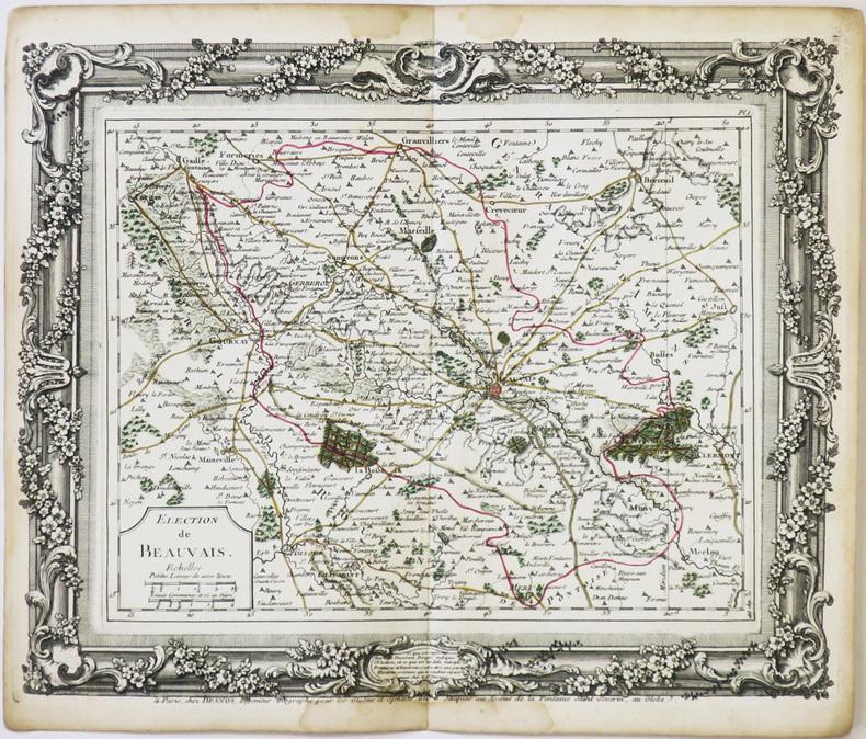[BEAUVAIS] Élection de Beauvais.. DESNOS (Louis-Charles).