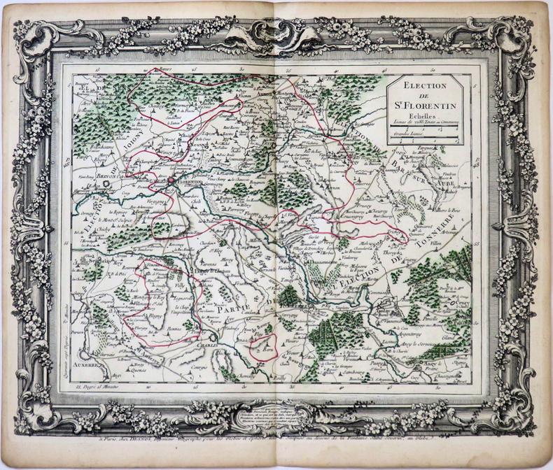 [SAINT-FLORENTIN] Élection de St. Florentin.. DESNOS (Louis-Charles).