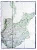 [Carte de la région d'Oppenau].. OPPENAU. MANUSCRIT.