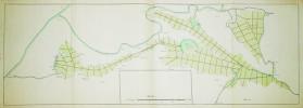 [Carte des marais et canaux entre Arles et Aigues-Mortes].. AIGUES-MORTES. MANUSCRIT.