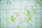 Plan géométrique des propriétés de Mr. le Comte Louis Duchatel situé à Wez.. WEZ. MANUSCRIT.