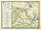 Plan du camp de Steinheim.. STEINHEIM. MANUSCRIT.
