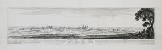 [DIJON] Divio – Dijon. Dessignée par I. Silvestre, et gravée par N. Perelle. Avec privilège du roy. A Paris chez Pierre Mariette rue S. Jacques à ...