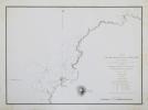 [ÎLE de l'ASCENSION] Plan du mouillage de Sandy-Bay (île de l'Ascension).. DUPERREY (Louis-Isidore).