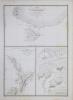 [NOUVELLE-ZÉLANDE] Carte de la côte méridionale de l'île de Tawaï-Poénammou (Nouvelle Zélande) - Carte de l'île Ika-Na-Mauwi (Nouvelle Zélande) - plan ...